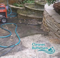 stone patio cleaning battersea